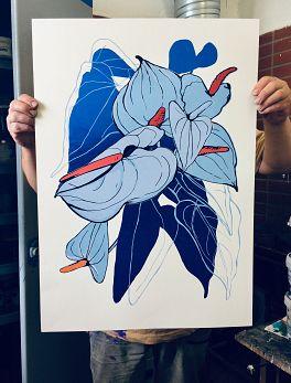 Blue kala