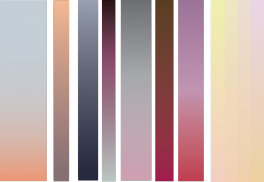 Random colour gradients
